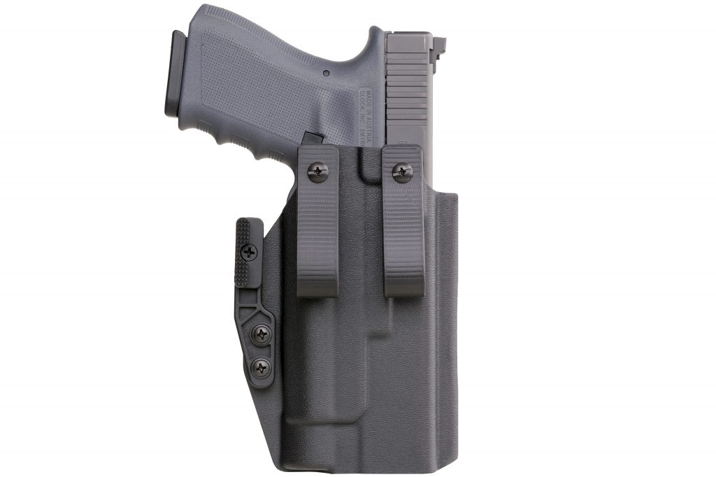 Red 1 USA Glock 19 Weapon Mounted Light IWB Holster